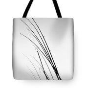 Fishing Poles - Bw Tote Bag
