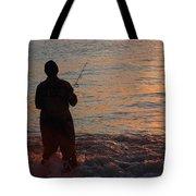 Fishing Reflections Tote Bag