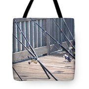 Fishing Rods Tote Bag