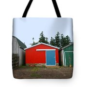 Fishing Shacks  Prince Edward Island  Canada Tote Bag