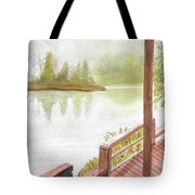 Fishing Spot Tote Bag