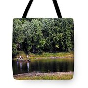 Fishing The St Croix Tote Bag