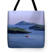 Fishing Trawler, Blasket Islands, Co Tote Bag