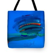 Fishing Trawler Hastings Stade Tote Bag