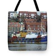 Fishing Trawler - Whitby Tote Bag