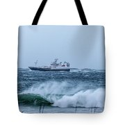 Fishing Vessel Tote Bag