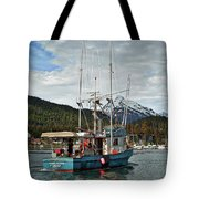 Fishing Vessel Chinak Tote Bag