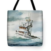Fishing Vessel Devotion Tote Bag