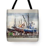 Fishing Vessel Ranger Drydock Tote Bag
