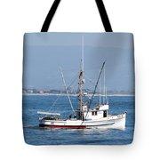 Fishing Vessel Sun Ra Tote Bag