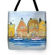 Fishing Village 3 Tote Bag