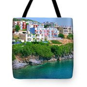 Fishing Village Bali Tote Bag