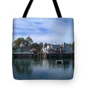 Fishing Village Tote Bag