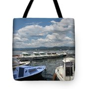 Fishingboats Tote Bag