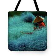 Fishnet Tote Bag by Okan YILMAZ