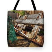 Fishnets And Planks Tote Bag
