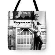 Fitness In Lingerie Tote Bag