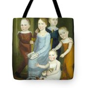 Five Children Of The Budd Family Tote Bag