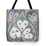 Five Elizabethan Ladies Tote Bag
