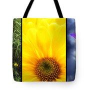 Five Flower Composite Tote Bag