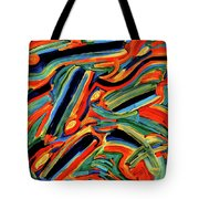 Five Gold Whales Tote Bag
