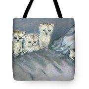 Five Kitties Tote Bag