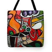 Five O' Clock With Picasso Tote Bag