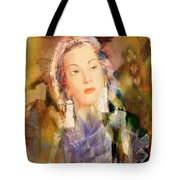 Five Octaves - Tribute To Yma Sumac Tote Bag