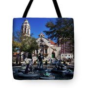 Five Points Fountain Tote Bag