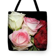 Five Roses Tote Bag