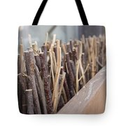 Five, Six Pick Up Sticks Tote Bag