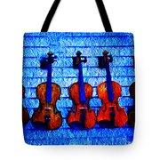 Five Violins Tote Bag