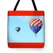 Flag Balloon Tote Bag