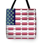Flag Bottles3 Tote Bag