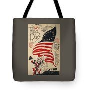 Flag Day 1917 Tote Bag