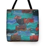 Flag Fish Tote Bag