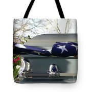 Flag For The Fallen Tote Bag