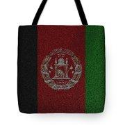 Flag Of Afghanistan Tote Bag