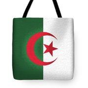 Flag Of Algeria Wall. Tote Bag