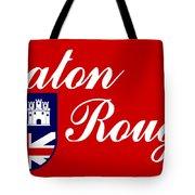 Flag Of Baton Rouge Tote Bag