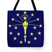 Flag Of Indiana Tote Bag