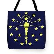 Flag Of Indiana Wall Tote Bag