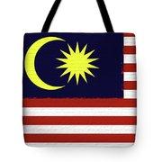 Flag Of Malaysia Wall. Tote Bag