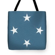 Flag Of Micronesia Wall Tote Bag
