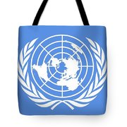 Flag Of The United Nations Tote Bag