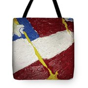 Flag Section Tote Bag