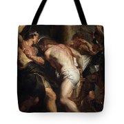 Flagellation Of Christ 2 Peter Paul Rubens Tote Bag