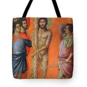 Flagellation Of Christ Fragment 1311 Tote Bag