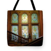 Flagler College Stained Glass Tote Bag