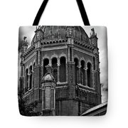 Flagler Memorial Presbyterian Church 3  B-w Tote Bag